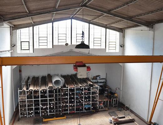 Fábrica de aço em Porto Alegre